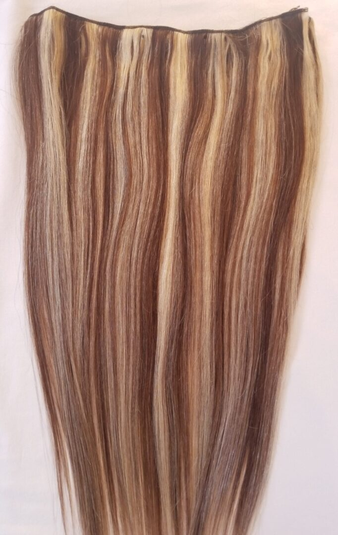 weft weave hair extensions #4-613