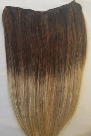 weft weave hair extensions T2-18/613 5