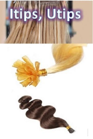Fusion (Itips,Utips) Hair Extensions
