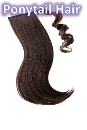 Ponytail Wrap Around Hair Extensions