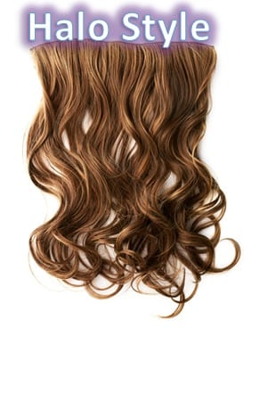 Halo Style Hair Extensions