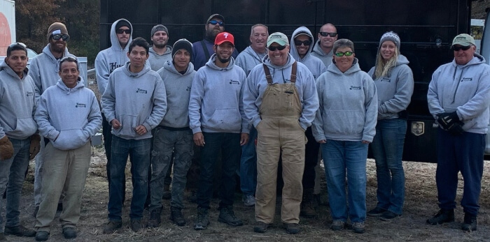 Haberman Landscaping team