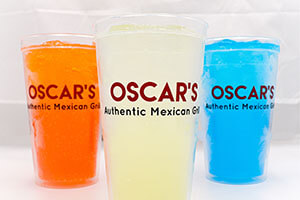 photo of drinks at Oscar's Authentic Mexican Grill
