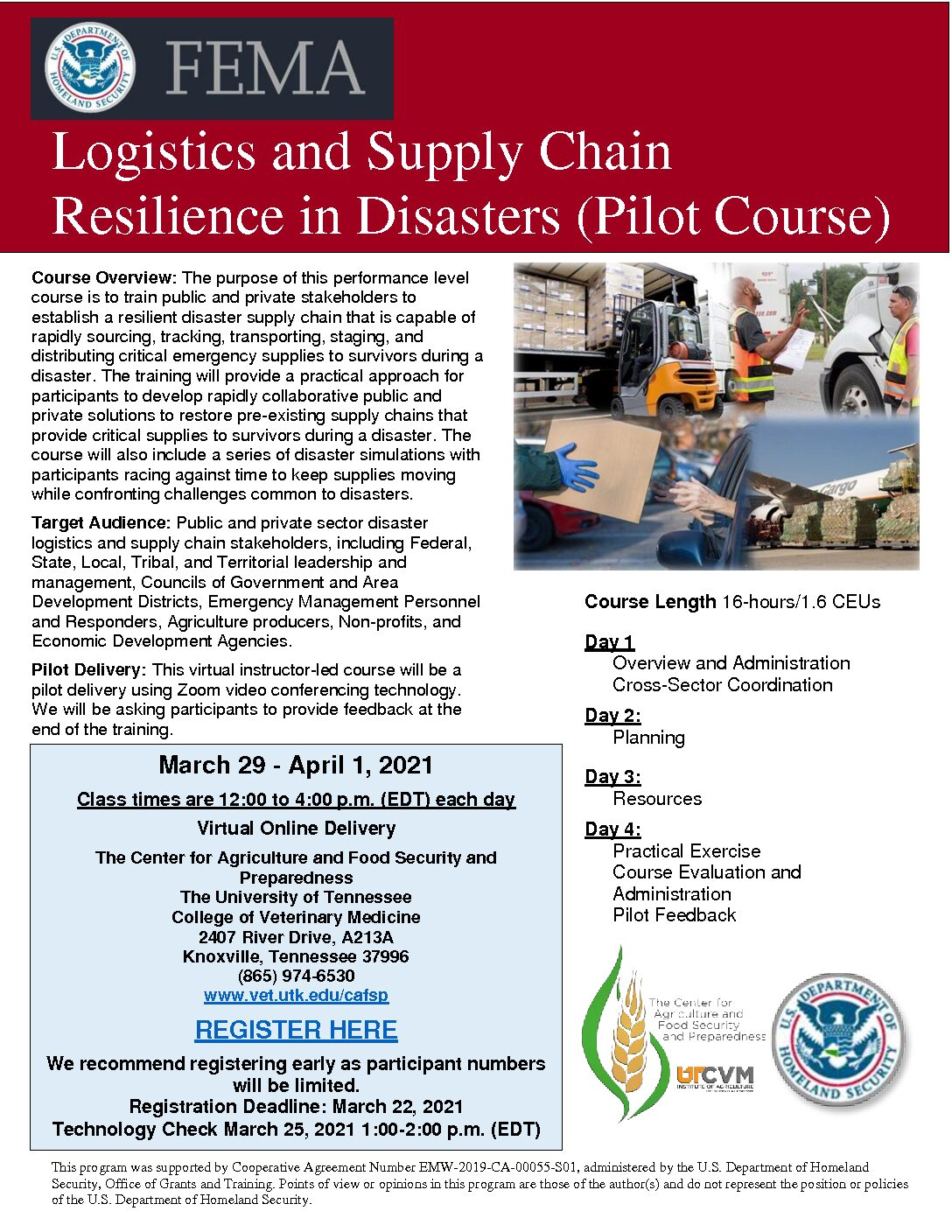 Supply Chain Resilience Workshop
