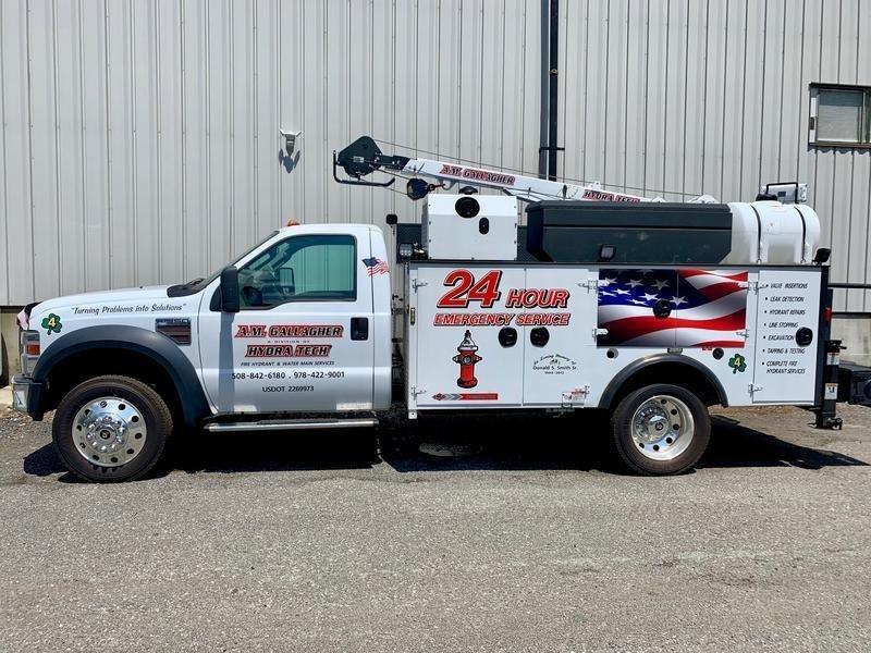 A.M. Gallagher Truck