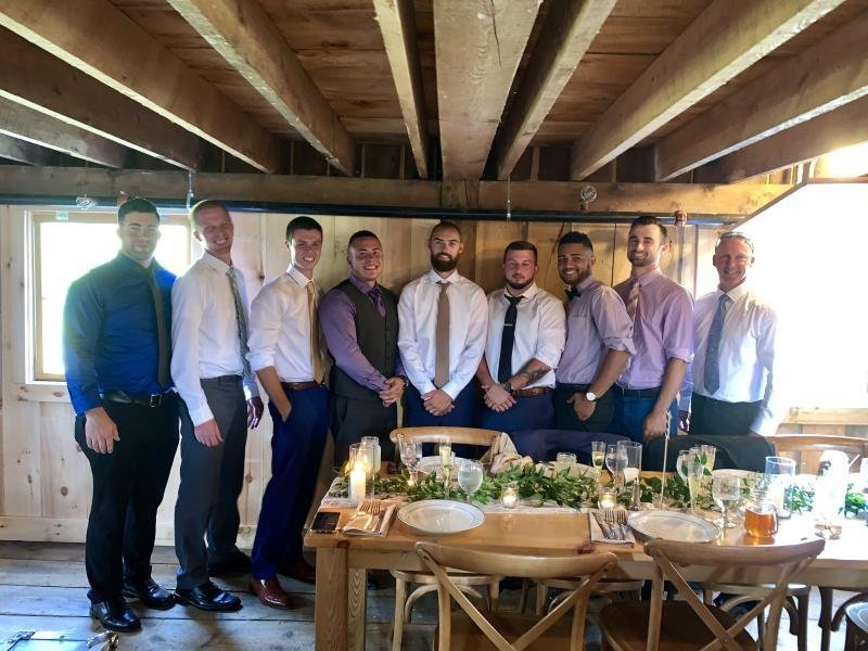 Celebrating Alex's Wedding