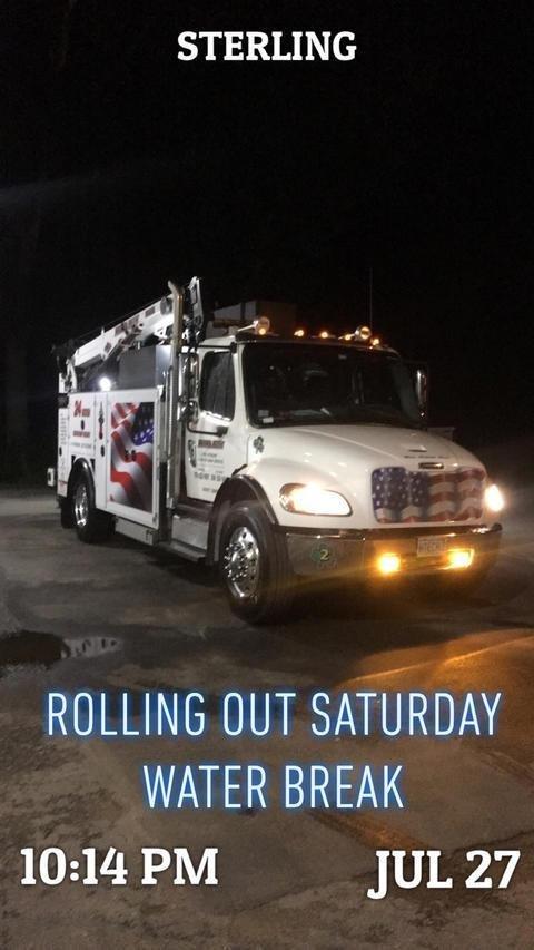Rolling Out Saturday Water Break