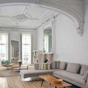 architectural-vintage-molding-with-an-arch