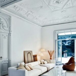 geometric-and-floral-ceiling-molding