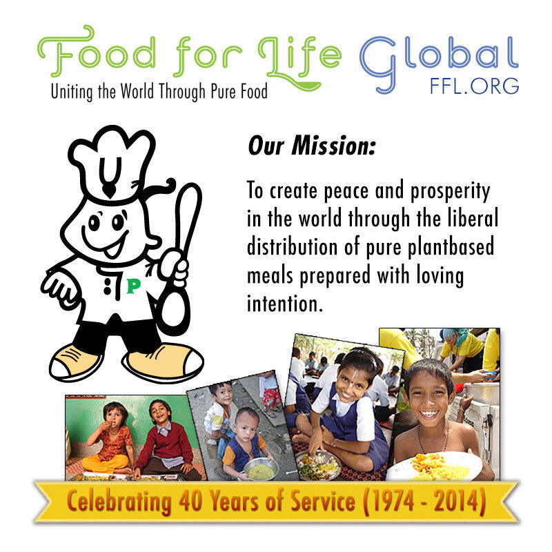 My journey with Food for Life – A summary of 30 years of service