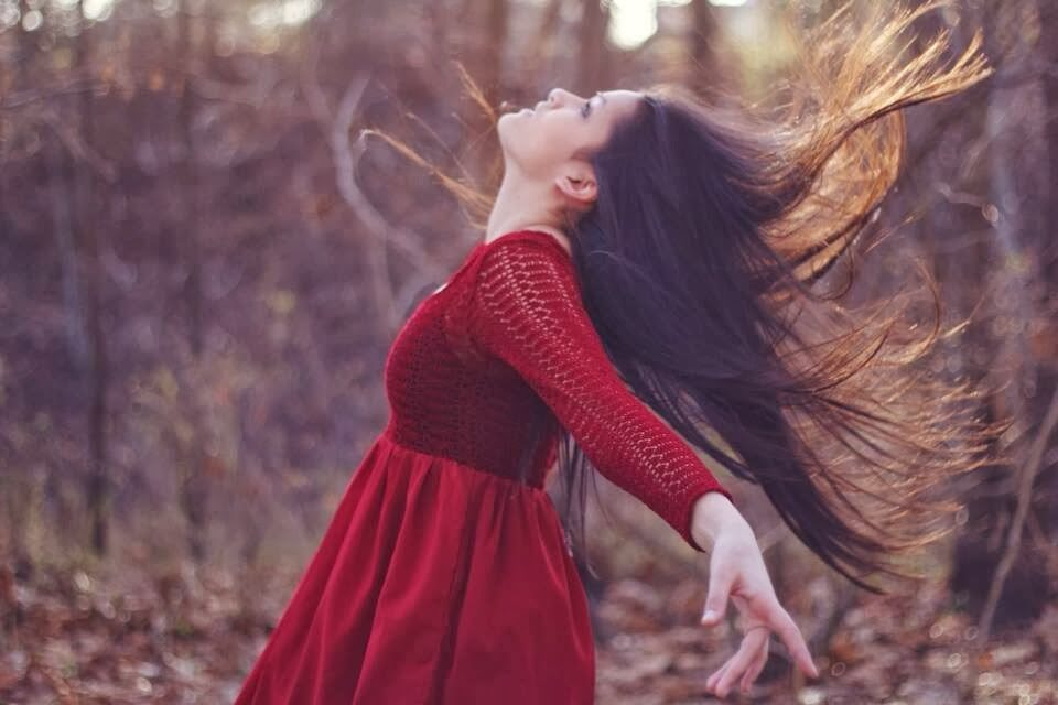 The Girl with the red dress (POEM for my daughter)