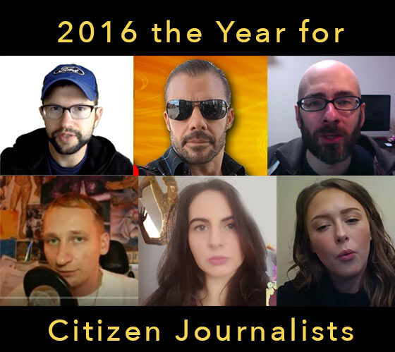 2016 is over — Welcome 2017 — the rise of the citizen journalist