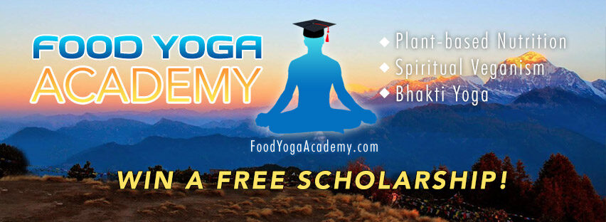 WIN a FREE SCHOLARSHIP at the Food Yoga Academy