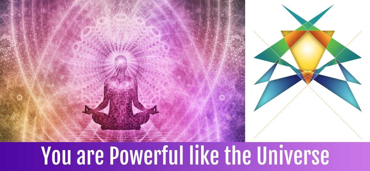 You and I are Powerful Like the Universe
