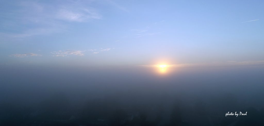 Above The Fog - Sunrise I