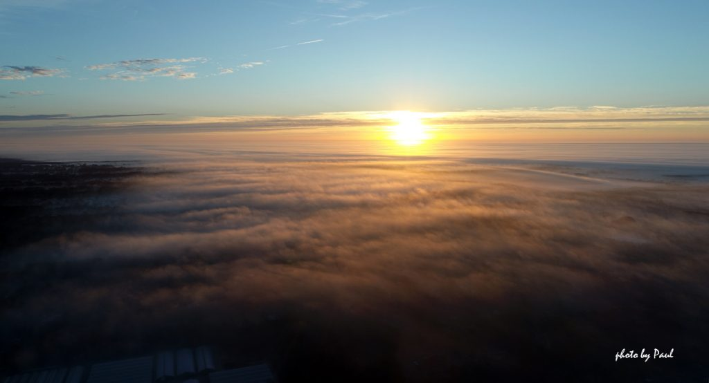 Above The Fog - Sunrise IV