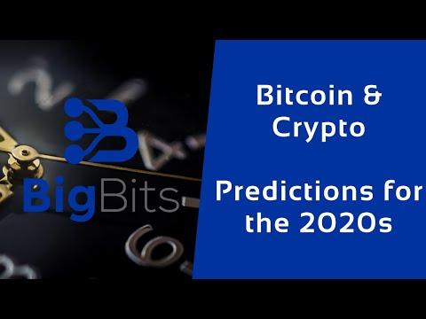 Bitcoin & Crypto – Predictions for the 2020s