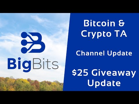 Bitcoin & Crypto TA – Channel Update – $25 Giveaway Update – 1-10-2020