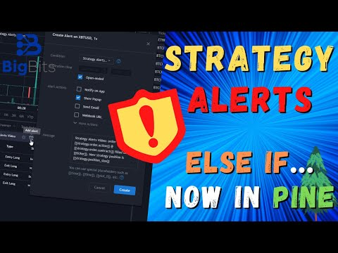 Strategy Alerts in TradingView – Else If Statement Now in Pine