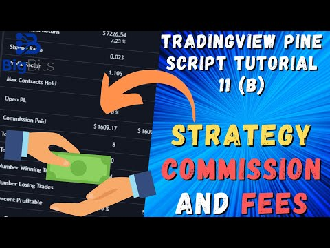 Strategy Commission and Fees – TradingView Pine Script Tutorial 11 (B)