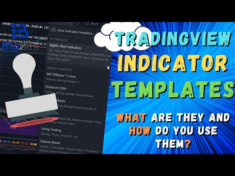 Indicator Templates on Tradingview – What Are They and How Do You Use Them?