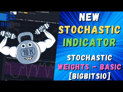 New Stochastic Weight Indicator – Stochastic Weights – Basic [BigBitsIO] – Now Available Free