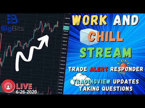 Working Stream – Trade Alert Responder – Taking Questions Live Stream 6-26-2020 – $50 Giveaway