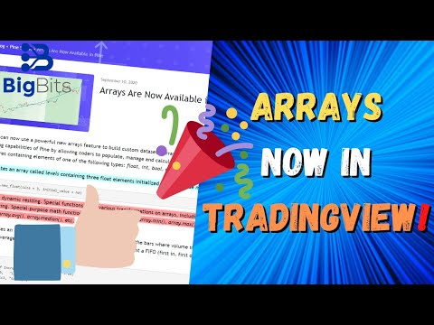 Arrays Are Now Available In Pine Script! What's New In TradingView