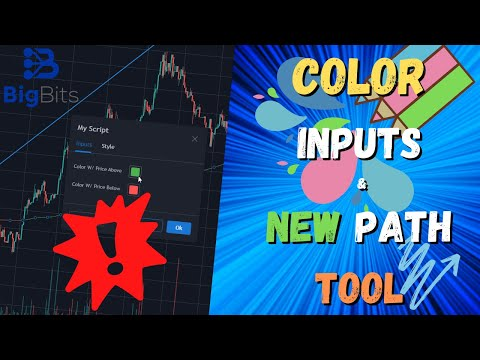 Color Inputs Now on TradingView! Also a New Path Tool!