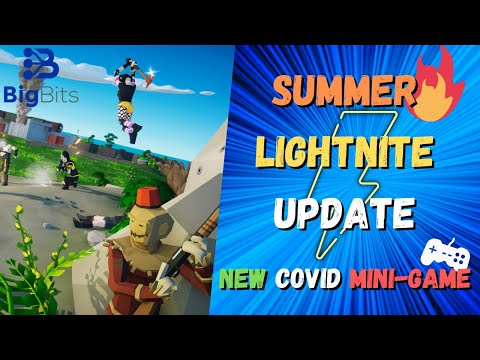 Major Lightnite Updates With Free Bitcoin Rewards For New Covid Mini-Game Coming!