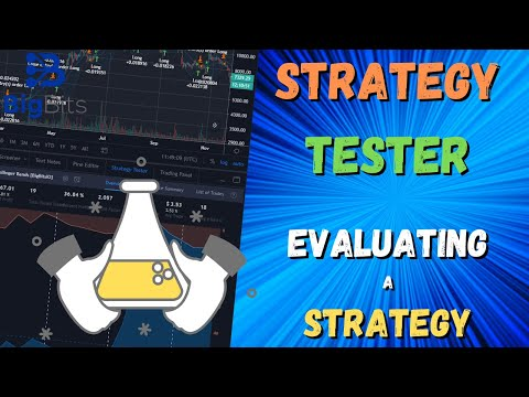 Using the Strategy Tester on TradingView to Evaluate a Strategy