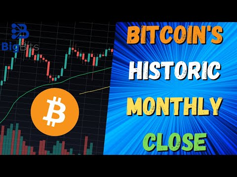 Bitcoin's Historic Monthly Close – New All-Time Monthly High Close?