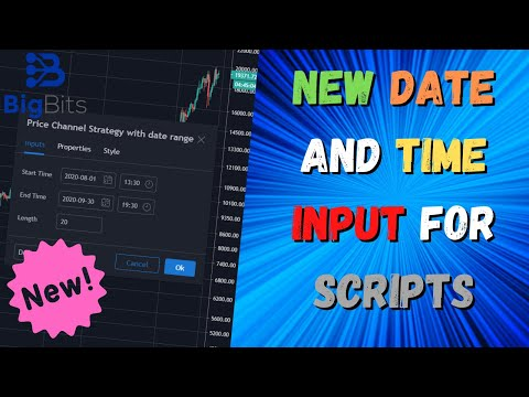 New Date and Time Input For Scripts on TradingView – Pine Script Update!