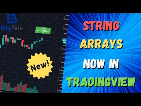 String Arrays in TradingView Pine Script – Brand New Feature Update!