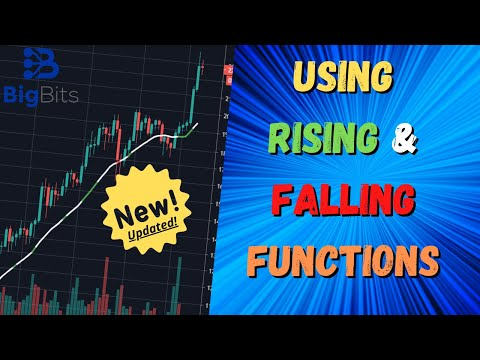 Using Rising & Falling Functions in TradingView Pine Script – Recently Updated!