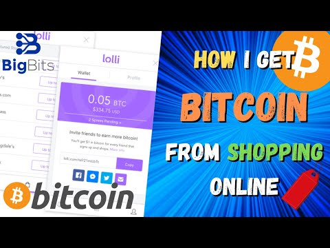 How I Get Bitcoin Back From Shopping Online – Using Lolli and §SatsTag For Stacking Sats