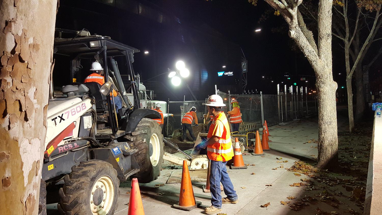Storm Drain Repair SAP Center in San Jose, CA
