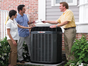 Heating and air conditioning repairs and service