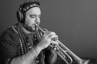 Barry Danielian on trumpet