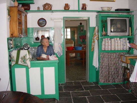 This old-fashioned shop on Sifnos hasn't changed much since the 40s.
