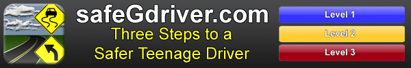 SafeGdriver - Three steps to a safer teenage driver.