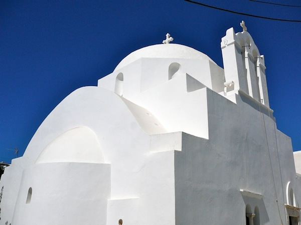 Cycladic architecture at its most perfect.