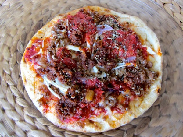 Lahmaçun, a delicious snack that beats a sandwich any time.