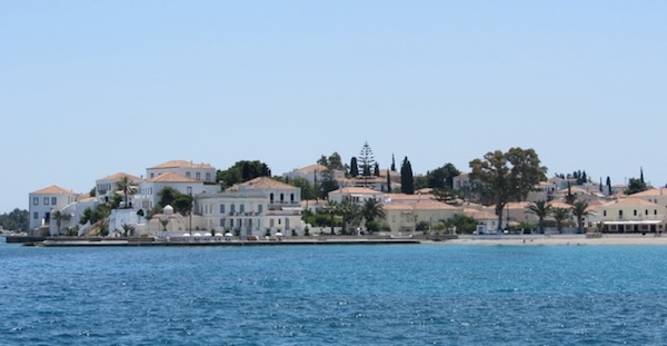 The island of Spetses.