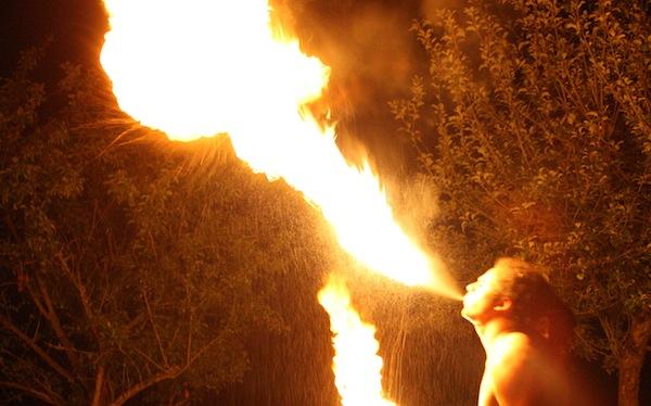 Light my fire.