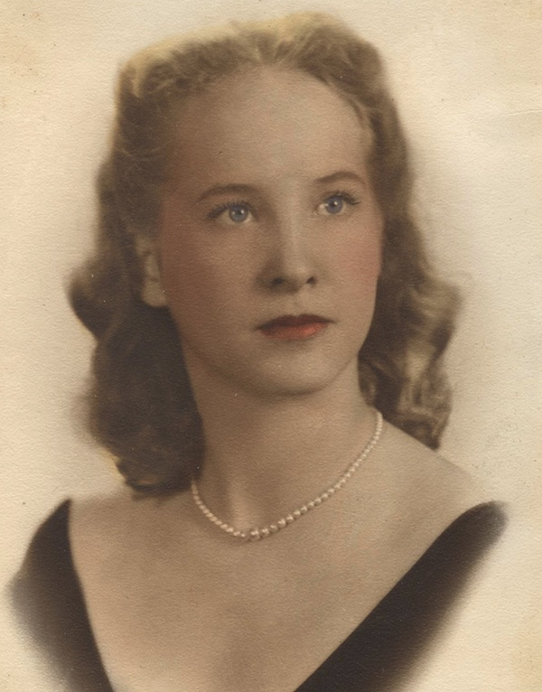 My mother, in 1943.
