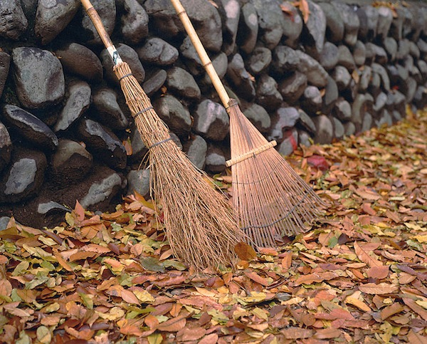 """Rake and Leaves,"" by Frank Gualtieri."