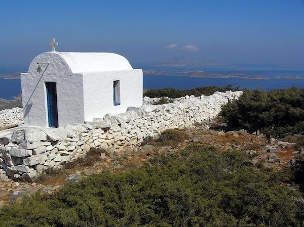 Profitis Ilias and its view.