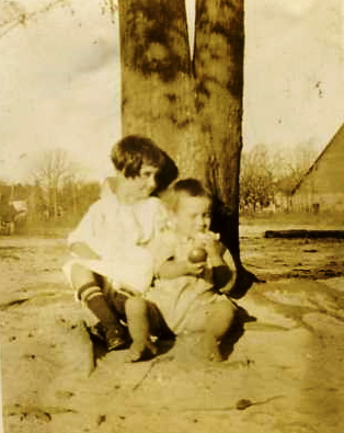 My mother, Beth Boleman, and her little brother, Webb.