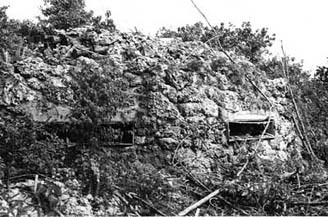 "Bloody Nose Ridge: ""After considerable bombing, the camouflage began to lose its effectiveness . . ."""